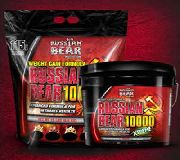 کربو پروتئین 10000 راشن بیر RussianBear 10000 Weight Gainer
