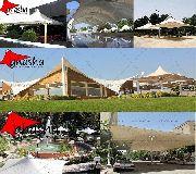 شرکت سازه چادری غشا ( NHA) طراح و مجری سازه های چادری-09380039391