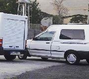 کابین عقب وانت و اتاق عقب خودروهای باری