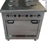 تجهیزات آشپزخانه صنعتی برقی اجاق گاز برقی ، دیگ چلوپز و خورشت پزبرقی، کباب پز برقی و سرخ کن برقی و فر برقی صنعتی